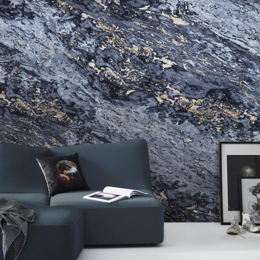 papier peint panoramique marbre. Black Bedroom Furniture Sets. Home Design Ideas