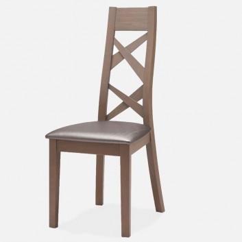 Chaise contemporaine chêne massif