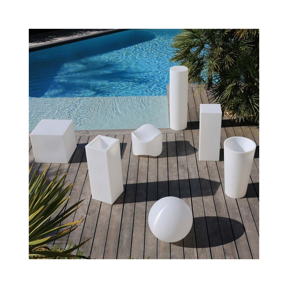 Mobilier lumineux - Mobilier jardin lumineux ...