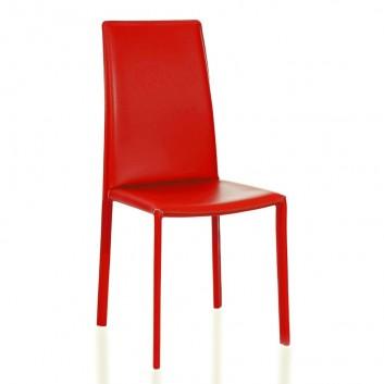 Chaise cuir Leon
