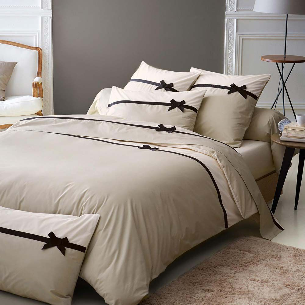 parure en percale housse couette. Black Bedroom Furniture Sets. Home Design Ideas