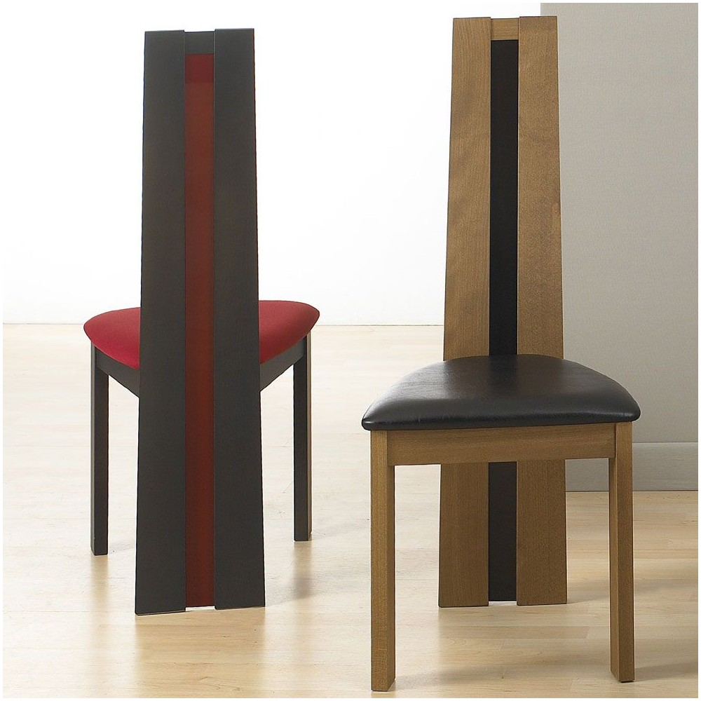 chaise bois massif self. Black Bedroom Furniture Sets. Home Design Ideas