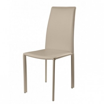 Chaise cuir Oliver