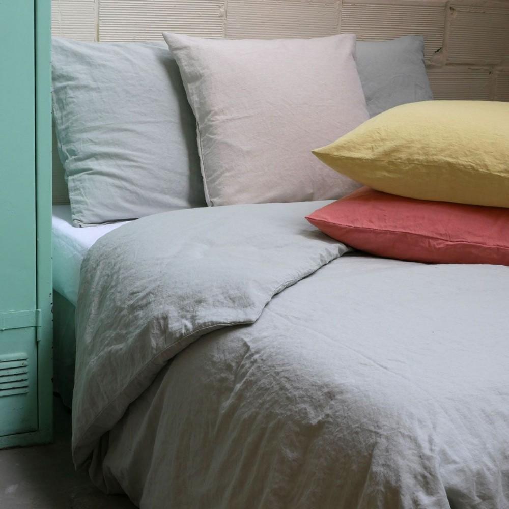 parure housse couette lin charvet. Black Bedroom Furniture Sets. Home Design Ideas