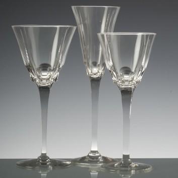 6 Verres Fernand Cristal de Paris