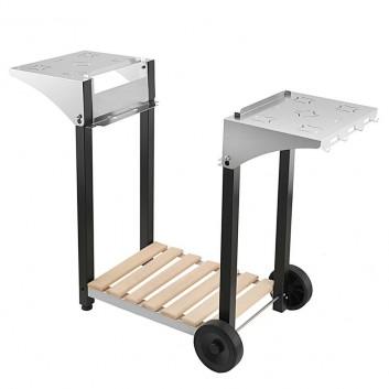 Desserte inox roller grill 600 - Plancha roller grill pl 600 gaz ...