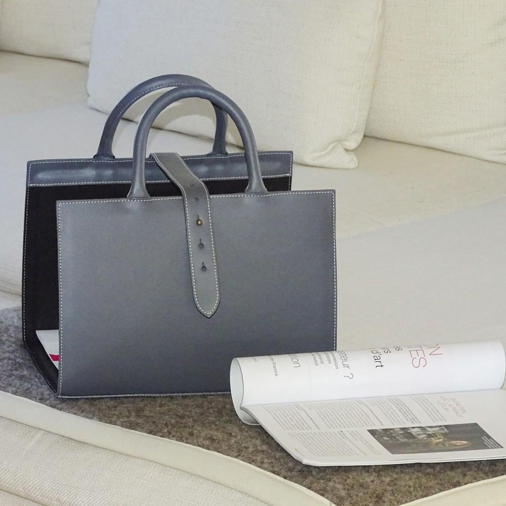 porte revue midipy cuir. Black Bedroom Furniture Sets. Home Design Ideas
