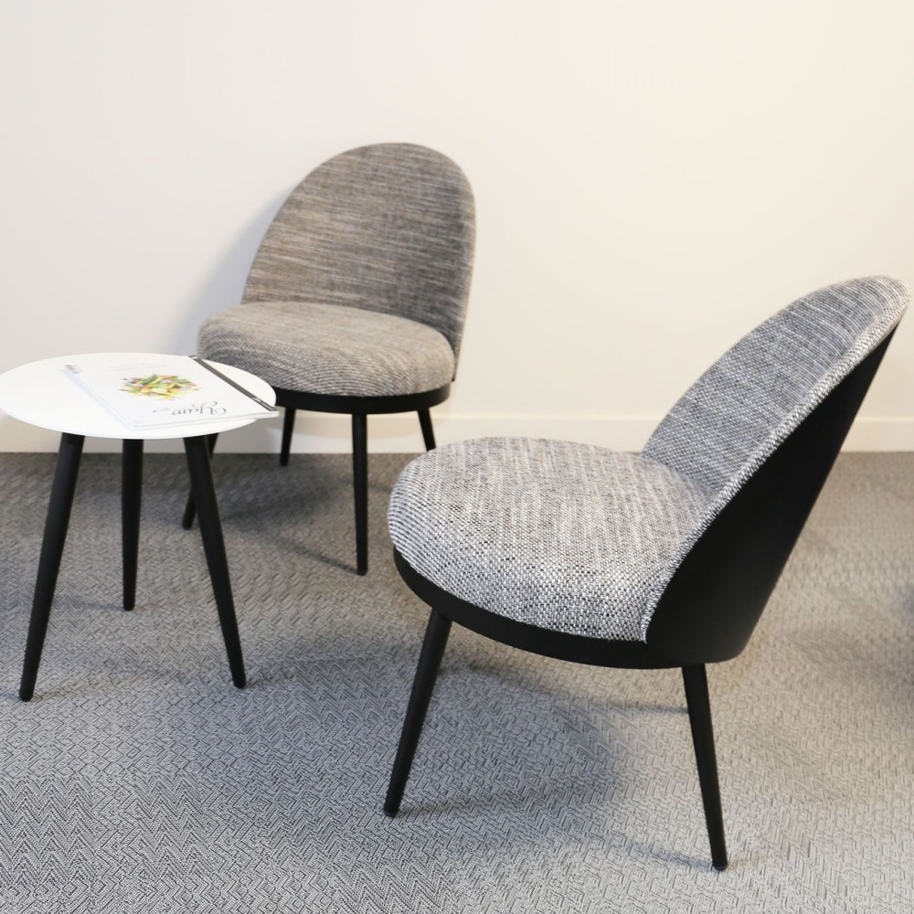 fauteuil m tal lili club resistub. Black Bedroom Furniture Sets. Home Design Ideas